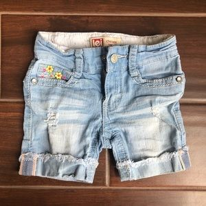 Denim shorts from Lei ( chelsea low rise)